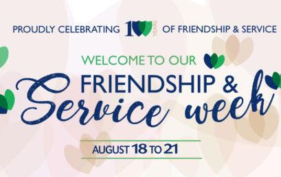 Friendship & Service Week Assembly