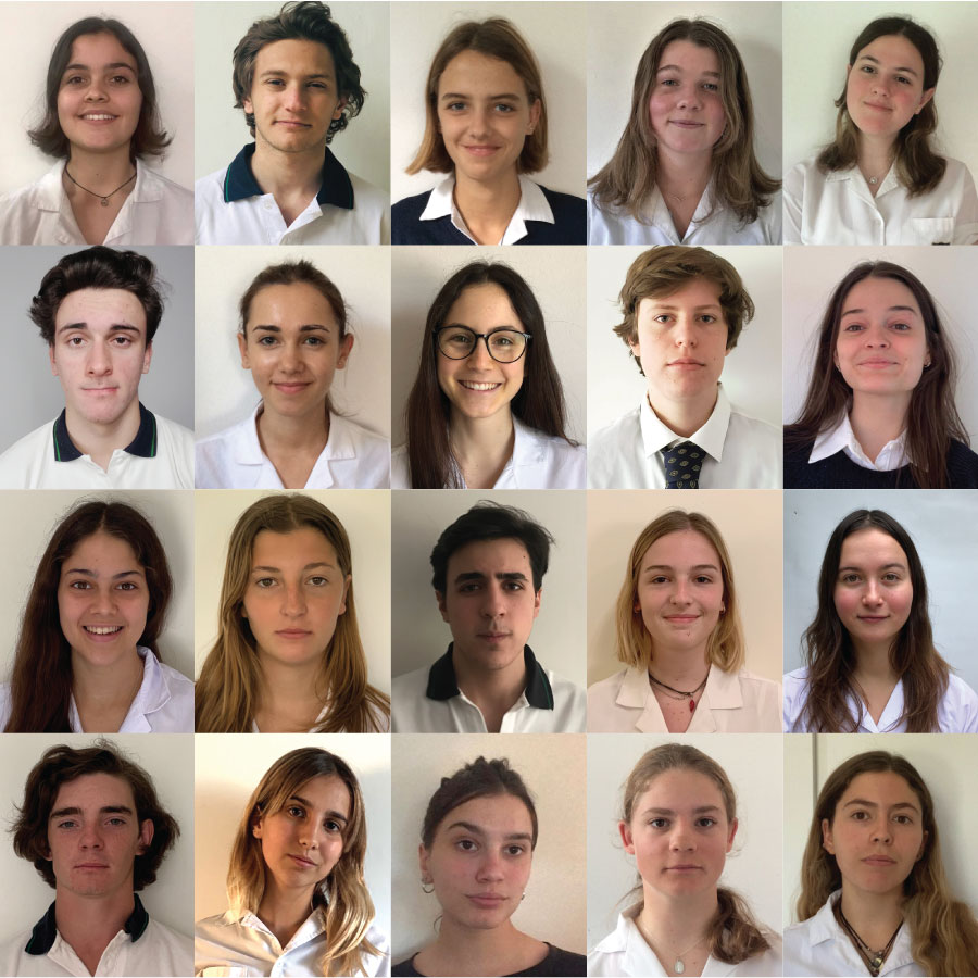 Olivos 2021 Heads, Prefects & Captains